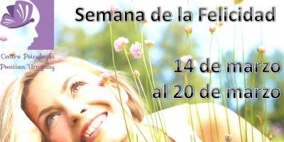 Veni a festejar con nosotros la Semana de la Felicidad